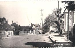 -----  02 --- HARTENNES ET TAUX -   Timbrée 1955 TTB - - Autres Communes