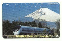Giappone - Tessera Telefonica Da 105 Units T323 - NTT, - Treni