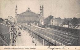 Antwerpen Anvers   La Gare Centrale Centraal Station Vue Sur Les Voies Zicht Op De Sporen Trein Tram           I 964 - Antwerpen