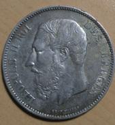 5 FRANCS 1876 - 09. 5 Francos