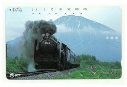 Giappone - Tessera Telefonica Da 105 Units T324 - NTT, - Treni