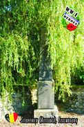 Carte Postale, Militaria, Monuments,  World War I Monuments, Belgium (Luxembourg), Sterpenich (Autelbas) - War Memorials