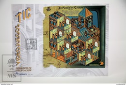 Spain 2017 FDC Cover La Abadía Del Crimen (The Abbey Of Crime) TIC Videogame Miniature Sheet - MNH - Juegos