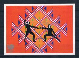 Bhutan 1989 Olympia Block 163 ** - Bhutan