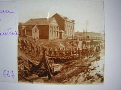 Plaque Photo Stereo Stereoscopique Ww1 1914-18 Militaire Somme Ham Infanterie - Guerre, Militaire
