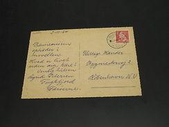 Denmark Faroe Islands 1964 Fuglafjordur Postcard To Denmark *26954 - Dänemark