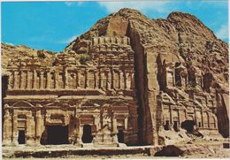 JORDANIE,JORDAN,ED DEIR,PETRA,monastere,cité Antique,du Roi Nabateen Obodas 1er,45 De Large Et 42 M De Haut - Jordan
