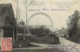 /! 1466 - CPA/CPSM - 76 :  Sotteville Sur Mer : Entrée Du Village - Sotteville Les Rouen