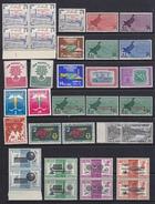 Pakistan 1951-64  Insieme Di 36 Serie Cpl E 93 Valori Tra I N/n  55 E 209 Tutti  MNH** - Pakistan