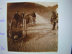 Plaque Photo Stereo Stereoscopique Ww1 1914-18 Militaire Etain Transport De Cadavres 520 - Oorlog, Militair