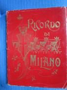 Ricordo Di Milano. 18 Vedute Fotografiche In Album 'a Fisarmonica'  12 X 16 Cm - Livres, BD, Revues