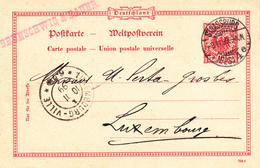 EP Michel P 25 Obl STRASSBURG / * (ELS) 4 E Du 9.11.99 Adressé à Luxembourg - Alsace Lorraine