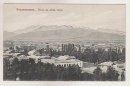 Vladicaucase.View To Mountains. - Russia