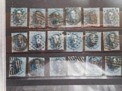 BELGIE 18 X NR 15A - 1863-1864 Medaillen (13/16)
