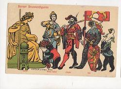Berner Brunnenfiguren Switzerland 1909 Postcard Kaiser 260b - Suisse