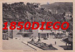 CASTELLAMMARE DI STABIA - LA STAZIONE CIRCUMVESUVIANA  F/GRANDE VIAGGIATA  1955 ANIMATA - Castellammare Di Stabia