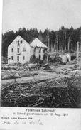 CPA-BAN De La ROCHE(67)-Vue De La Ferme-Auberge-Maison Forestière SCHIRRGUT De La Charbonnière - 1914 Après Bombardement - Otros Municipios