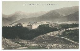 CPA MONT LOUIS DANS SA CEINTURE DE FORTIFICATIONS, PYRENEES ORIENTALES 66 - France