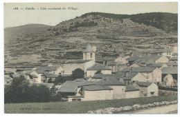 CPA ODEILLO, COTE OCCIDENTAL DU VILLAGE, PYRENEES ORIENTALES 66 - Autres Communes
