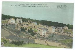 CPA COLORISEE LES CHALETS D'ODEILLO, PRES FONT ROMEU, PYRENEES ORIENTALES 66 - Autres Communes