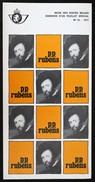 Dépliant Philatélique Folder Flyer N°12 - 1977 3 Volets Rubens - Postdocumenten