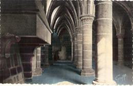 --- 50 ----  LE MONT SAINT MICHEL  La Salle Des Chevaliers - Le Mont Saint Michel