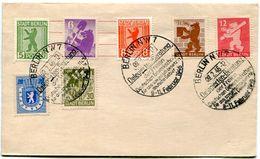 5_40 Berlin 1 A 7 Oblitératuion GF Iluustrée 9-11. 2 . 1946 - Allemagne