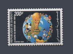 DJIBOUTI SOCCER WORLD CUP COUPE MONDE FOOTBALL USA 1994 MNH ** RARE - Djibouti (1977-...)