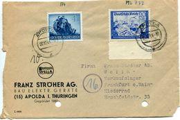 5_42 Devant De Lettre Avec Mi 777 Et 874 - Allemagne