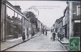 SAINT-SAUVEUR-LE-VICOMTE - Rue Bottin-Desylles - Saint Sauveur Le Vicomte