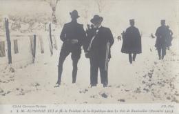 Evènements - Réception Roi Espagne Alphonse XIII - Président Fallières - Chasse Rambouillet - Réceptions