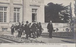 Evènements - Réception Roi Espagne Alphonse XIII - Président Fallières - Espana - Versailles Petit Trianon 1905 - Recepciones