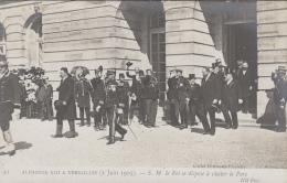 Evènements - Réception Roi Espagne Alphonse XIII - Président Fallières - Espana - Versailles 1905 - Recepciones
