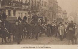 Evènements - Funérailles - Bruxelles - Attelage Corbillard - Photographe Appareil - Funérailles