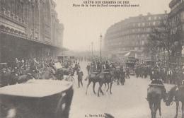 Evènements - Grèves - Paris Gare Du Nord - Garde Républicaine - Grèves