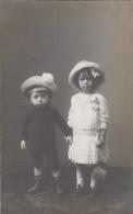 Photographie - Carte-Photo - Enfants Familles Damry Et Felot - Photographe Samson Liège Belgique - Photographie