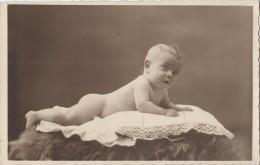 Photographie - Carte-Photo - Bébé Famille Damry - Photographe Groeff Bressoux Liège Belgique - 1936 - Photographie
