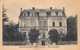 France  Aulnay De Saintonge   Hotel Minargent           I 980 - Aulnay