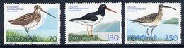 FAROE IS. 1977 Wading Birds MNH / **.  Michel 28-30 - Faroe Islands