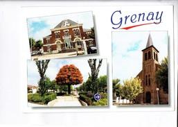 43109 GRENAY L EGLISE - LA MAIRIE - GIRATOIRE VERBRUGGHE - France