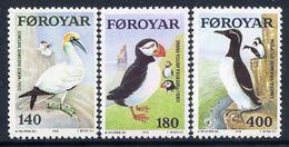 FAROE IS. 1978 Sea Birds MNH / **.  Michel 36-38 - Faroe Islands