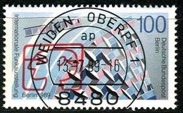 Berlin - Mi 847 - Zentrisch OO Gestempelt (B) - 100Pf  Funkausstellung 1989 - Berlin (West)