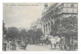 PARIS  (cpa 75)  Boulevard Bonne-Nouvelle -   - L 1 - Transport Urbain En Surface