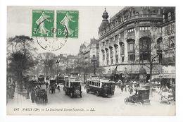 PARIS  (cpa 75)  Le Boulevard Bonne-Nouvelle -   - L 1 - Transport Urbain En Surface