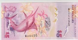 Bermudas 5 Dollars 2009 Pick 58a UNC - Bermudas