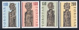 FAROE IS. 1980 Church Pew-ends MNH / **.  Michel 55-58 - Faroe Islands