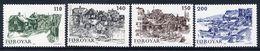 FAROE IS. 1981 Old Torshavn MNH / **.  Michel 59-62 - Faroe Islands