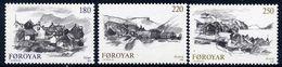 FAROE IS. 1982 Faroese Villages MNH / **.  Michel 72-74 - Féroé (Iles)