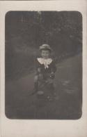 Photographie - Carte-Photo - Enfants Garçon Jouets - Parc Paris - Photographie