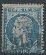 Lot N°37773   Variété/n°22, Oblit GC 3151 RIVE-DU-GIER (84), Ind 2, Moucheté De Points Blancs - 1862 Napoleon III